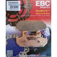 EBC Brakes Double-H Sintered Superbike Brake Pads Front - FA124/2HH