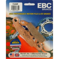 EBC Brakes Double-H Sintered Superbike Brake Pads Front -  FA342R