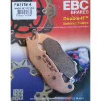 EBC Brakes Double-H Sintered Superbike Brake Pads Front - FA375HH