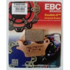 EBC Brakes Double-H Sintered Superbike Brake Pads Front -  FA691HH