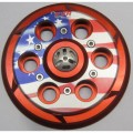 EVR 'FLAG' Anti-Clank Vented Clutch Pressure Plate For the Ducati OE Dry Clutch