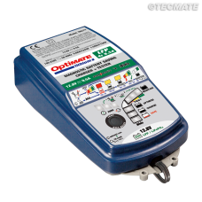 EarthX OptiMate 9.5 amp Lithium Battery Charger / Maintainer / Power Supply - Model TM-275 with BMS reset