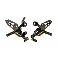 Gilles VCR38GT2 Rearsets for the KTM 790 Duke