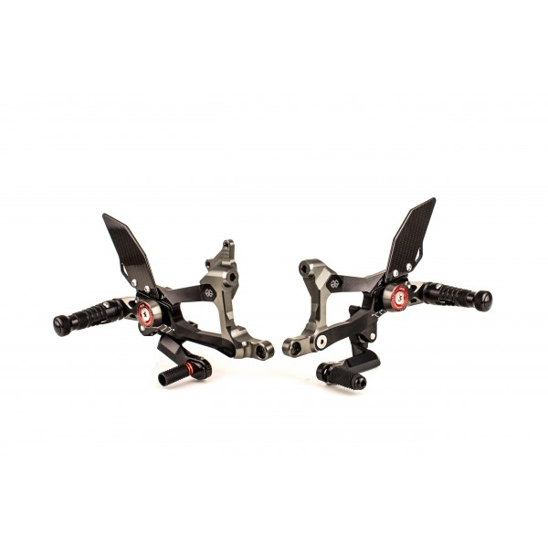 Gilles MUE2 Rearsets for Ducati Panigale V4 / S / R / Speciale (2018+)