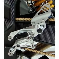 "Gilles Tooling ""CUP"" Racing Rearsets for the Yamaha YZF-R3 (2015-2018) and YZF-R25 (2015-2018)"