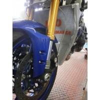 Galletto Radiatori (H2O Performance) Oversize Racing Radiator kit For Yamaha YZF R6 (2017+)