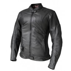 Helite XENA Women's Leather Airbag Jacket in Black