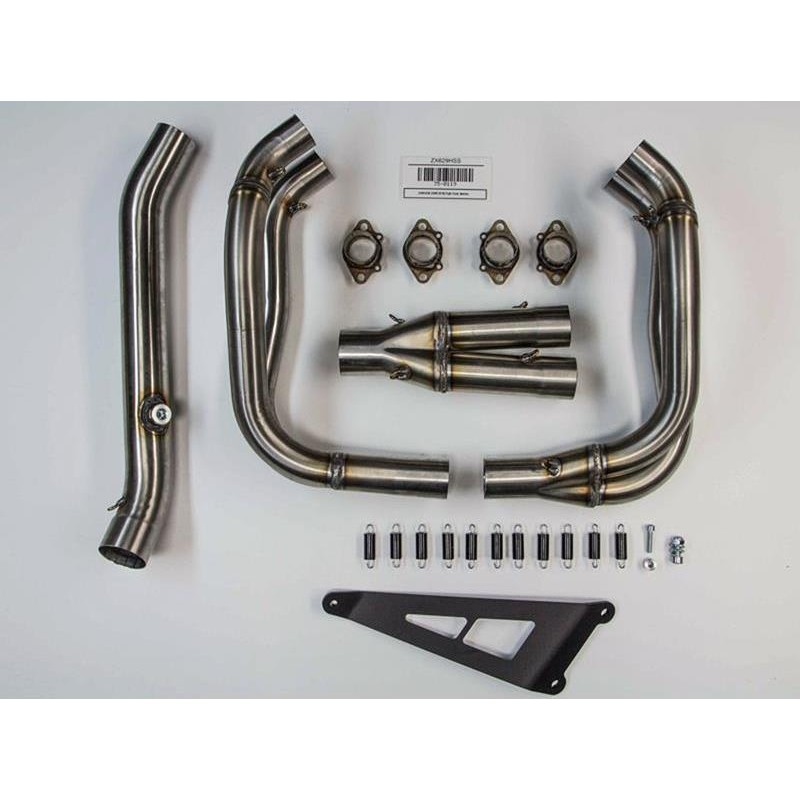 Hindle Evolution Full 4-2-1 Stainless Exhaust For Kawasaki