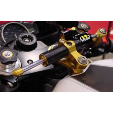 "Hyperpro RSC ""Reactive"" Steering Damper for the Ducati 848 EVO, 1098, and 1198"