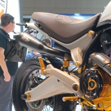 SC-Project CONIC 70s Style Exhaust for the Ducati Scrambler 1100 / S