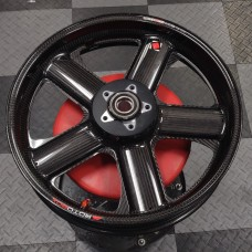 Rotobox Carbon Fiber Front Wheel for the Ducati 1098/1198 SF1098 MTS1200 M1200 899/959/1199/1299 (Open Box Display)