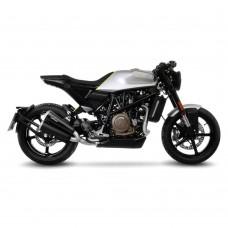Leo Vince GP Duals Stainless Steel | Slip-on Exhaust For Husqvarna Vitpilen 701 '18 -19