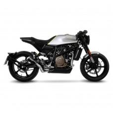 Leovince LV-10 Black Edition Stainless Steel | Slip-on Exhaust For Husqvarna Vitpilen 701 '18 -19