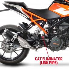 Leo Vince Cat Eliminator (Link Pipe) For KTM Duke 390/RC 390/Duke 125/RC 125 '17-19