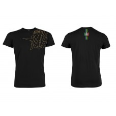 MV Agusta Reparto Corse Official Team Wear Black Vintage T-Shirt