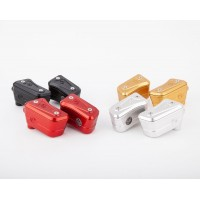 Motocorse Billet Brake and Clutch Reservoirs for OE Master Cylinders for Ducati Streetfighter V4 / S