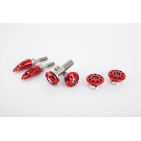 Motocorse Aluminum Frame plugs for the Ducati Panigale V4 / S / Speciale