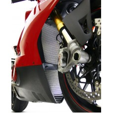 Motocorse Titanium Radiator and Oil Cooler Guards for the Ducati Panigale V4 / S/ R / Speciale