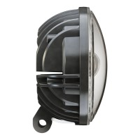 Motodemic 5.75 Inch LED Pedestal Mount Headlight