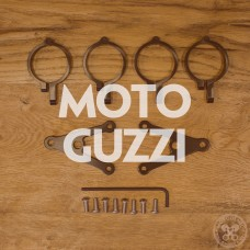 Motodemic Moto Guzzi Custom Headlight Brackets