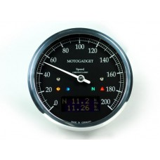 Motogadget ChronoClassic Speedo - Dark Edition (MSC)