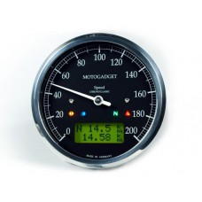 Motogadget ChronoClassic Speedo - Green LCD (MSC)