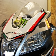 New Rage Cycle 2015+ Aprilia RSV4 RR / RF Front Turn signal Kit & Mirror Block offs