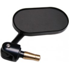 Oberon Oval Adjustable Bar End Mirror