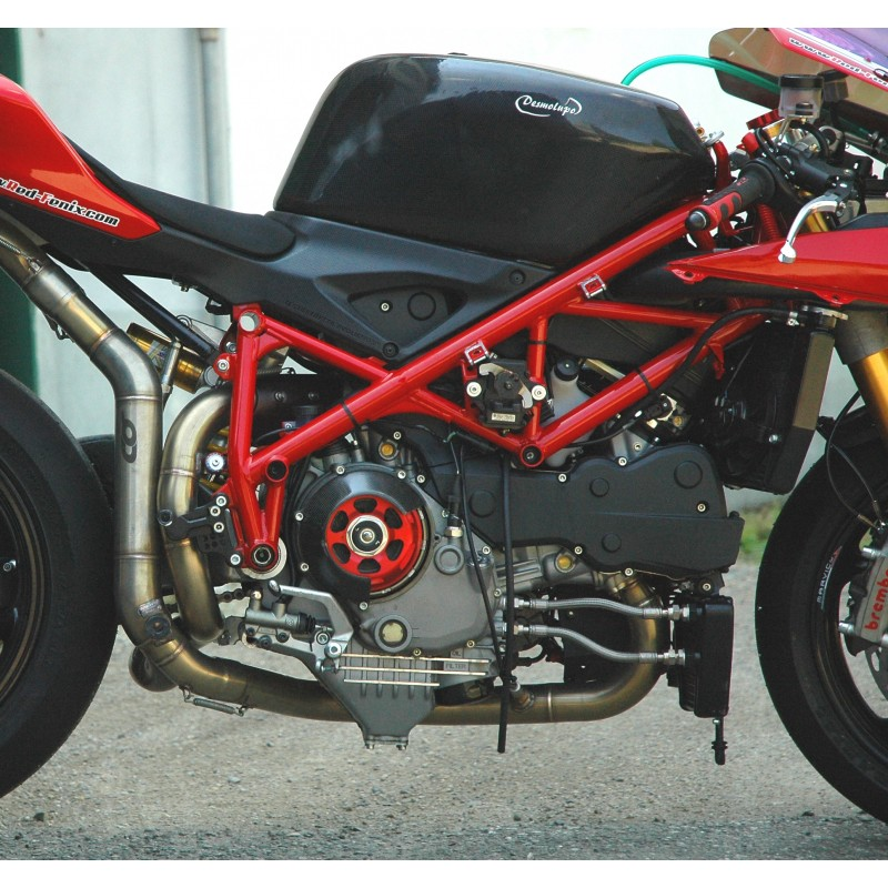 Qd Exhaust 212 Full Header Kit For Ducati 1098848 Factory Second Works With: Ducati 1098 Exhaust At Woreks.co