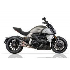 QD Exhaust Dual GunSHot 2-1-2 Exhaust - DUCATI DIAVEL 1260