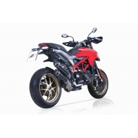QD Exhaust Twin Magnum Slip-on for Ducati Hypermotard 939