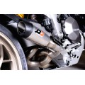 QD Exhaust GunSHot 2-1 Half system - DUCATI MULTISTRADA 1260 (2018+) and 1200 (2015-2017)