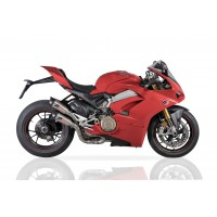 QD Exhaust Twin GUNSHOT Exhaust for the Ducati Panigale V4 / S / R / Speciale