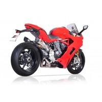 QD Exhaust Twin Gunshot  3/4 Full system with Tri-Cone Mufflers for Ducati Supersport /S