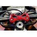 CNC Racing Handlebar Top Clamp for Aprilia Tuono V4 1100 17+