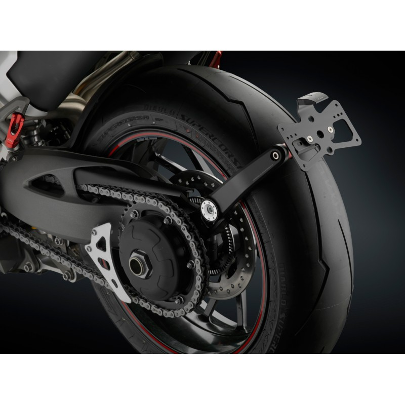 Rizoma Side Arm License Plate Support For Triumph Speed Triple S