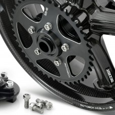 Rotobox BILLET ALUMINUM Dual Sided Swing Arm (DSSA) Rear Sprockets For Rotobox, BST, Marchesini, and OZ Wheels