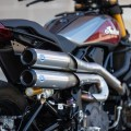 S&S Grand National 2-into-2 High Mount Exhaust for the Indian FTR 1200 (Flat Track Racer)