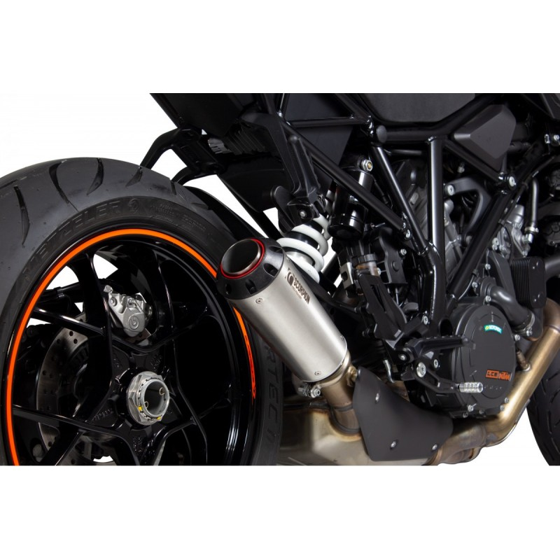 SCORPION RED POWER SLIP ON EXHAUST Fot The KTM 1290 Super