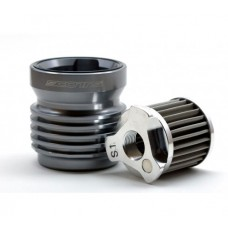 Scotts Performance Reusable Stainless Steel Micronic Oil Filter for Most Ducati Models