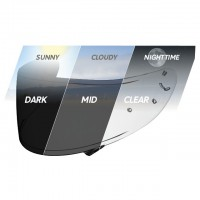 Shoei CWR-1 Transitions Photochromic Pinlock Shield