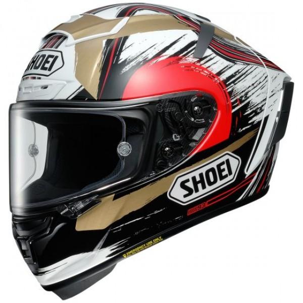 Shoei X-Fourteen Marquez Motegi2