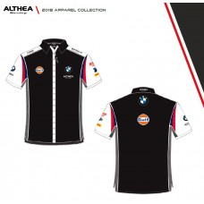ALTHEA Racing WSBK BMW Official Team Wear - Button Up Short Sleeve Shirt