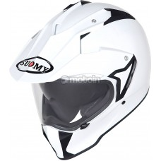 Suomy MX Tourer Helmet White