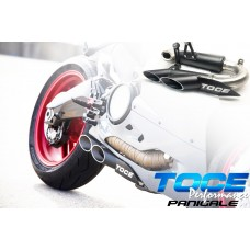 TOCE Performance T-Slash Slip-on Exhaust for Ducati Panigale 1299 / S