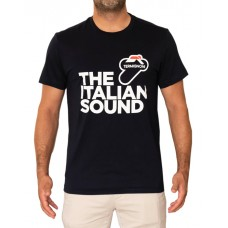 TERMIGNONI T-SHIRT ITALIAN SOUND - Black