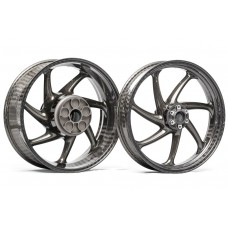 Thyssenkrupp Style 1 Braided Carbon Fiber Wheels for the BMW S1000RR / S1000R / HP4