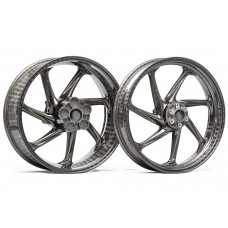 Thyssenkrupp Style 2 Braided Carbon Fiber Wheels for the Aprilia RSV4 (2009+) and Tuono V4 (2010+)