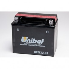 Unibat CBTX12-BS Battery with 3 yr Warranty