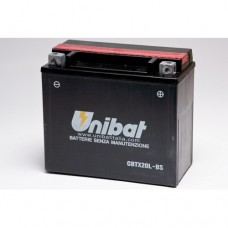 Unibat CBTX20L-BS Battery with 3 yr Warranty
